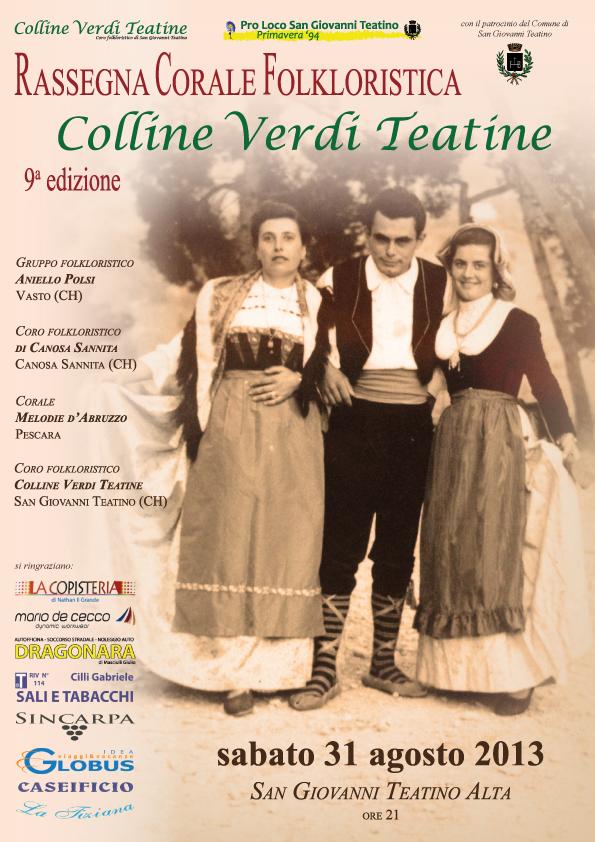 Rassegna Corale Folkloristica 2013